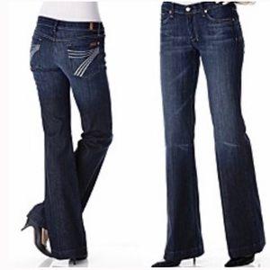 7 for all Mankind DOJO denim trouser